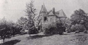 Home of H.D. Greene - site of first tennis courts in Oregon