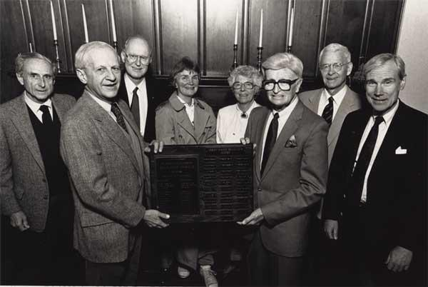 Oregon Indoor Tennis Club, original members: Pierre Kolisch, Kim McCall, Emery Neale, Nancy Russell, Helen Dick, Bill Summerville, Sam Lee, Henry Swigert
