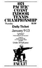 Pacific Coast Indoor Tournament Poster